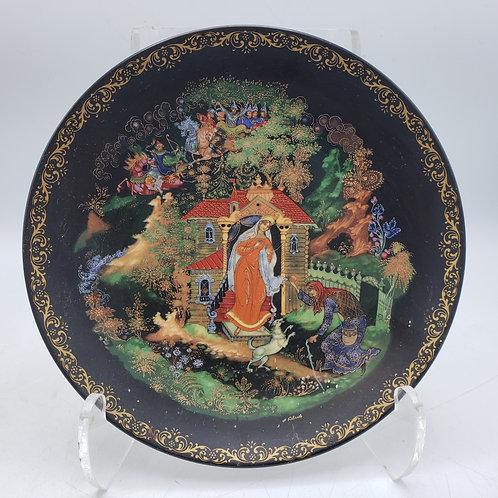 Russian Legends Princess & The Seven Bogatyrs Collector's Plate