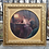 Thumbnail: Signed Vintage Artwork of Woman at Makeup Counter in Gold Gilt Frame