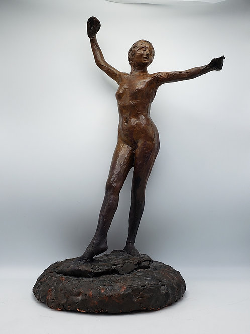 Vintage MCM Modern Sculpture of a Woman