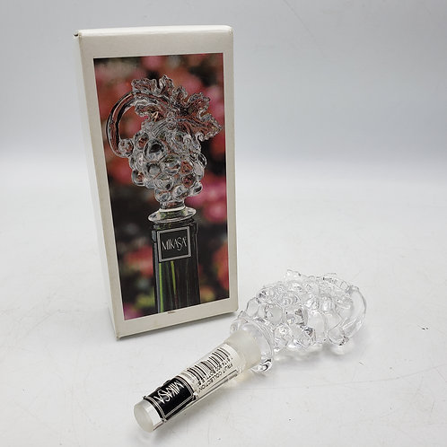 Mikasa Glass Fruit Collection Wine Stopper