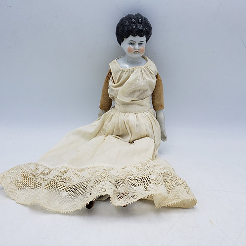 Antique German Porcelain Head & Feet Doll Dolly Madison Style