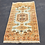 """Thumbnail: 100% Wool Hand Knotted Yellow & Light Blue Rug, 61"""" x 35"""""""