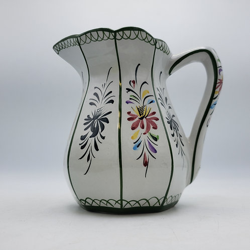 Small Handpainted Pitcher from Portugal