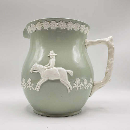 Copeland Spode Pitcher Hunting Scene