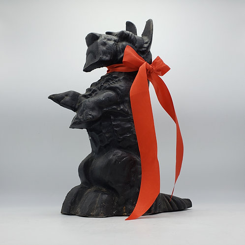 Vintage Large Cast Iron Scottie Dog Doorstop