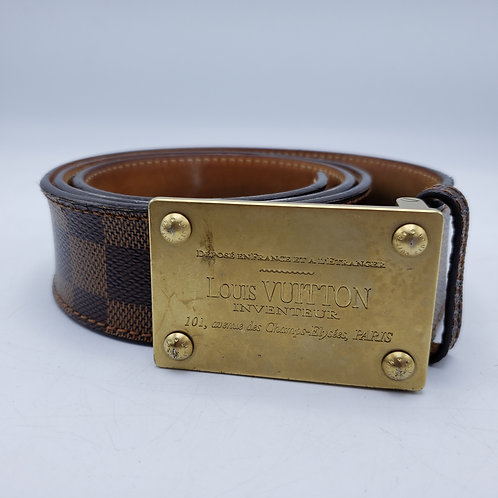 Louis Vuitton Belt Danier Brown