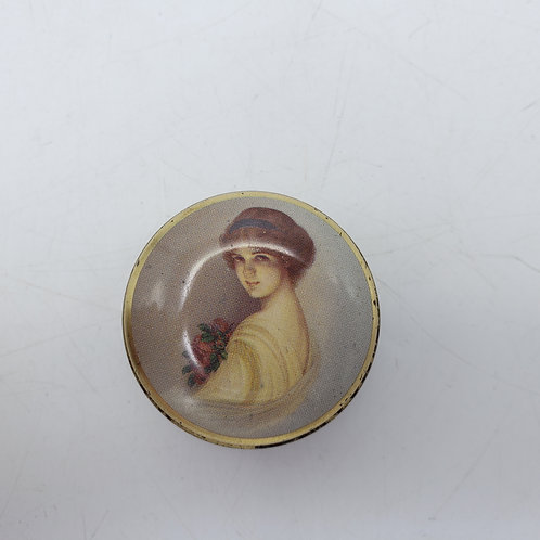 Miniature Candy Tin England The Chambers Candy Company