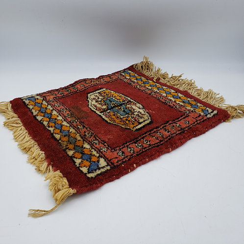 Miniature Hand Knotted Rug