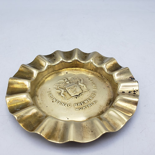 Vintage Frontenac Breweries Limited Montreal Ashtray