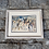 Thumbnail: Signed J. Oates Taxco Mexico Band Watercolor Artwork Framed and Matted