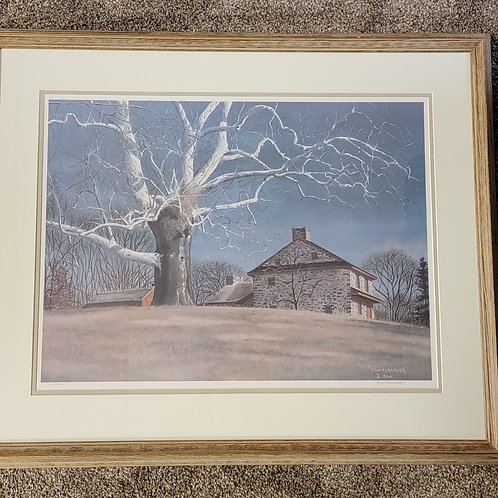 James R. Huntsberger Limited Edition Lithograph of Lafayette's Headquarter