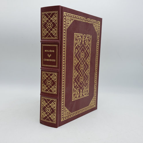 Book: Moliere Comedies The Franklin Library 1968