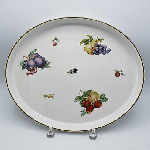 Wedgwood Fruit Sprays Oval Platter