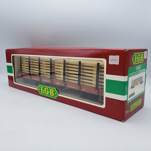 LGB 4169 Flat Car With Lumber Load G Scale with Box