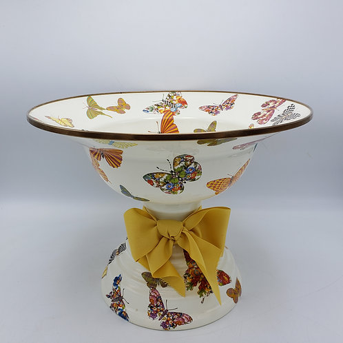 MacKenzie -Childs Butterfly Large Compote