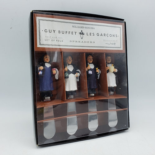 Williams-Sonoma Guy Buffet Les Garcons Cheese Knives New