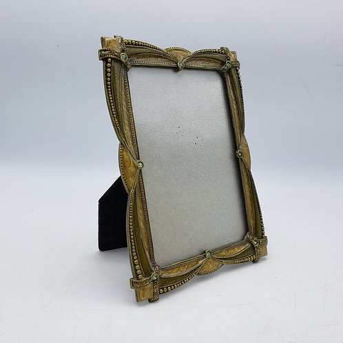 Green Jeweled Picture Frame 4 x 6