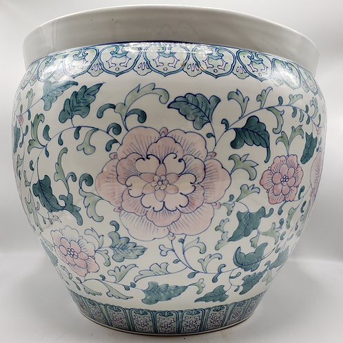 Vintage Chinese Porcelain Flower Pot / Planter