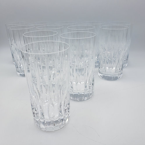 Set of 12 Mikasa Park Avenue Highball Glasses