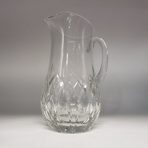 Crystal Pitcher by Block with Ice Lip