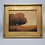Thumbnail: Decorator Plein Air Style Oil Painting of Tree on Canvas in Gold Frame