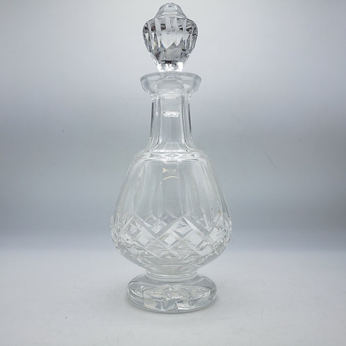 Vintage Waterford Lismore Footed Decanter with Stopper