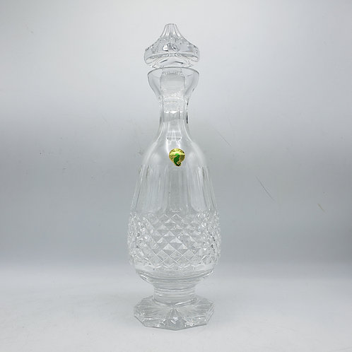 Vintage Footed Waterford Colleen Brandy Decanter