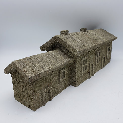 B D Miniature Resin Building ~ Double Building