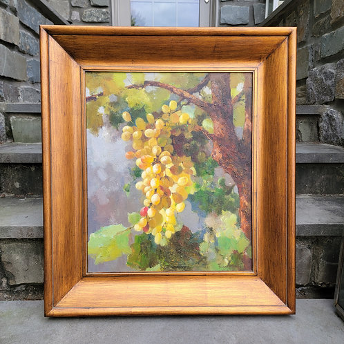Decorator Oil Painting of Grapes
