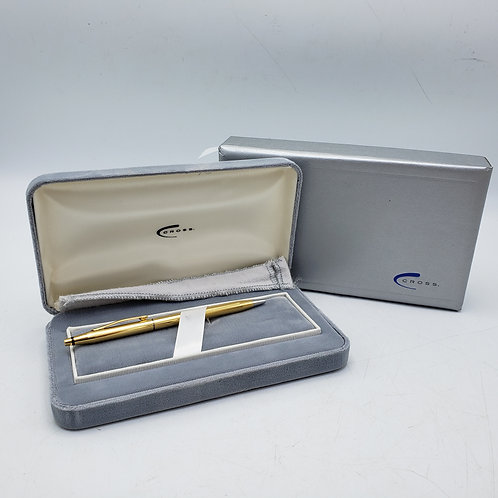 18K Gold Cross Pen with Box