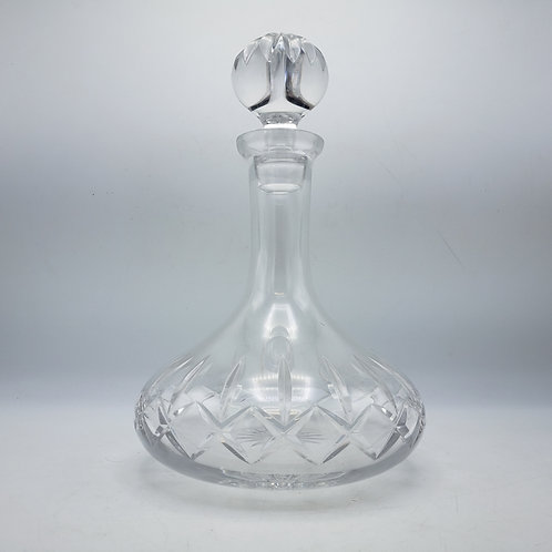 Crystal Atlantis Ships Decanter with Stopper