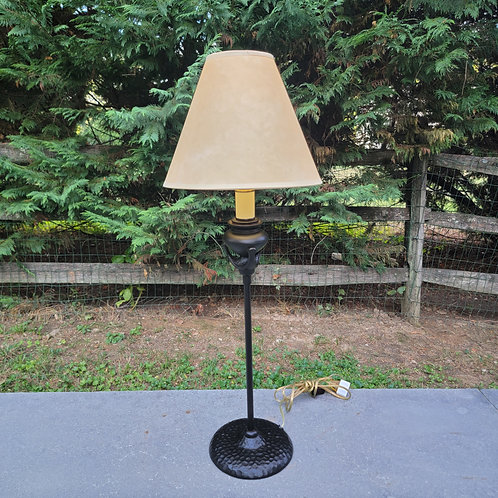 Faux Hammered Bronze Decorator Lamp