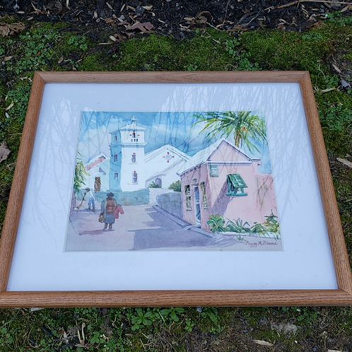 Watercolor Painting by Peggy Binns of Bermuda