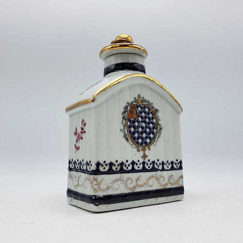 Wong Lee Asian Tea Caddy with Lid