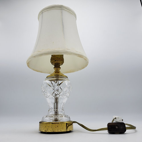 Small Waterford Crystal Lamp
