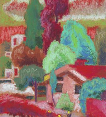 FARID MANSOUR 0042 - UNTITLED - 18 x 25