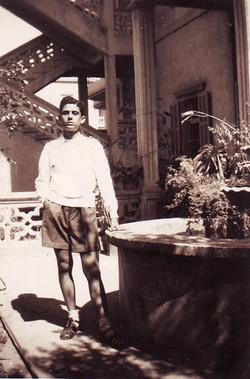 FARID MANSOUR - PHOTO CHILDHOOD MAZRAA BEIRUT