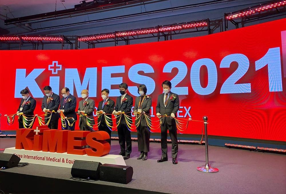 KIMES 2021'e 33 ülkeden 1208 şirket katıldı.