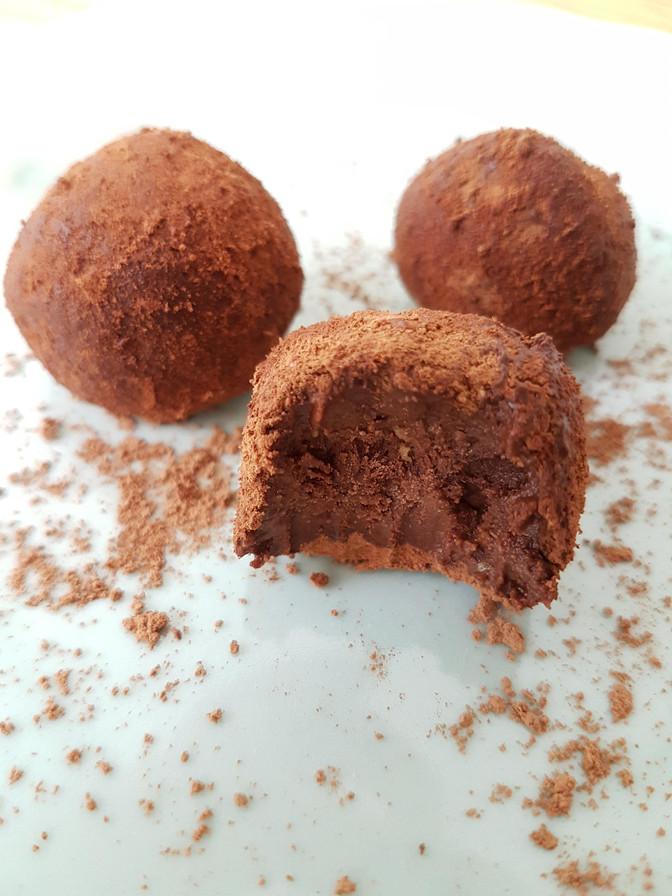 Trufinhas de Chocolate