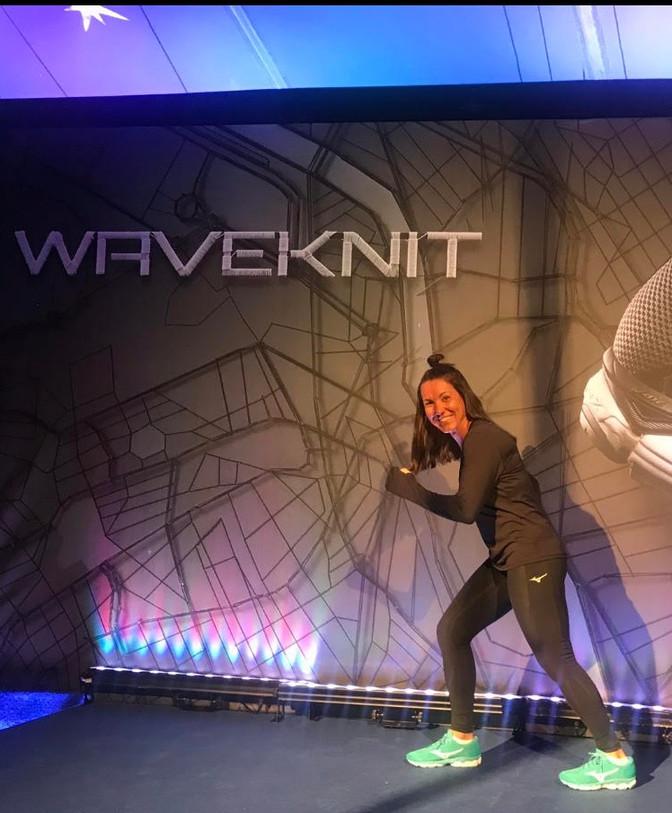 Novidade da Mizuno: Waveknit