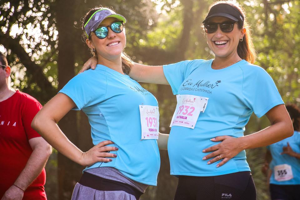 Fernanda e Nathalia - Corrida e Caminhada
