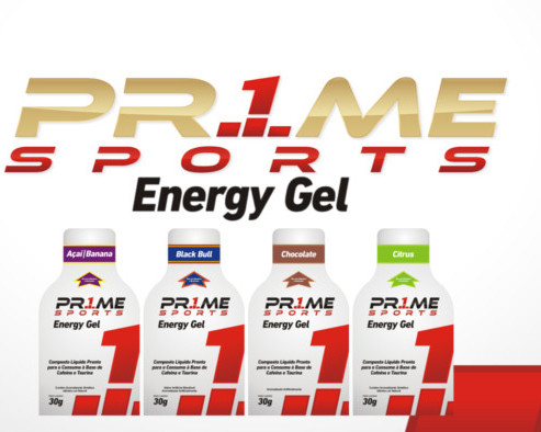 Prime Sports: Energy Gel e Muscle Shake Protein