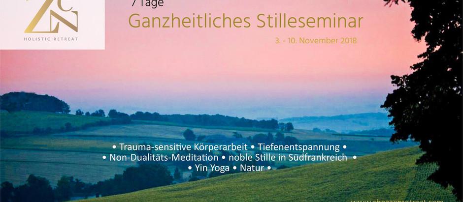 Ganzheitliches Stilleseminar in Südfrankfreich