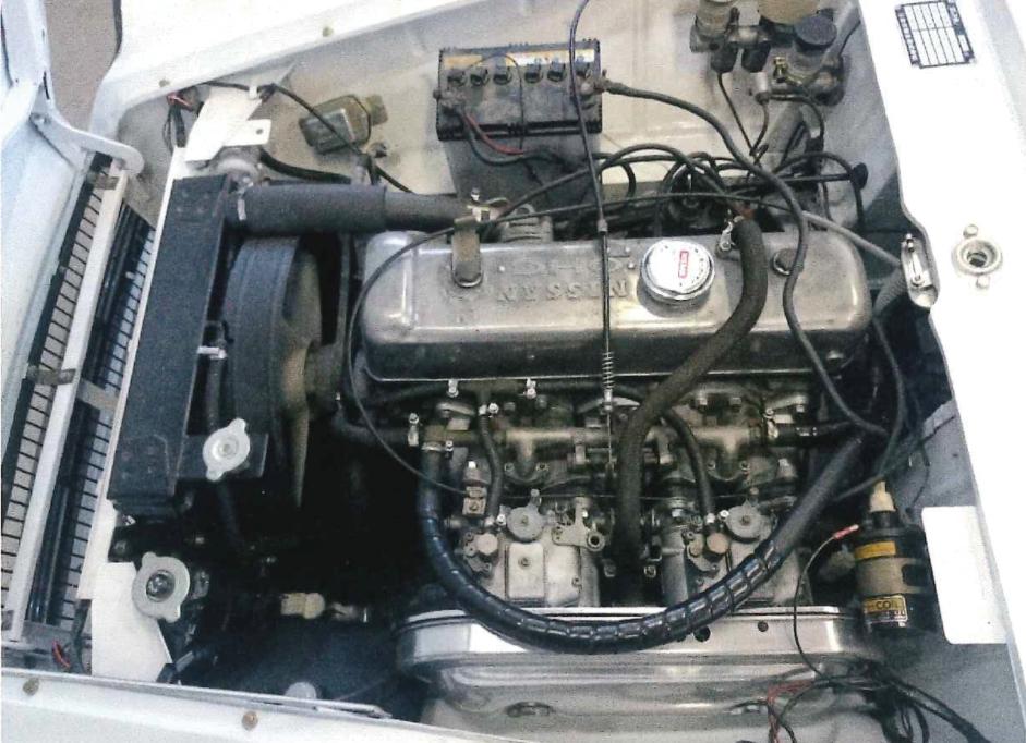エンジンの修理