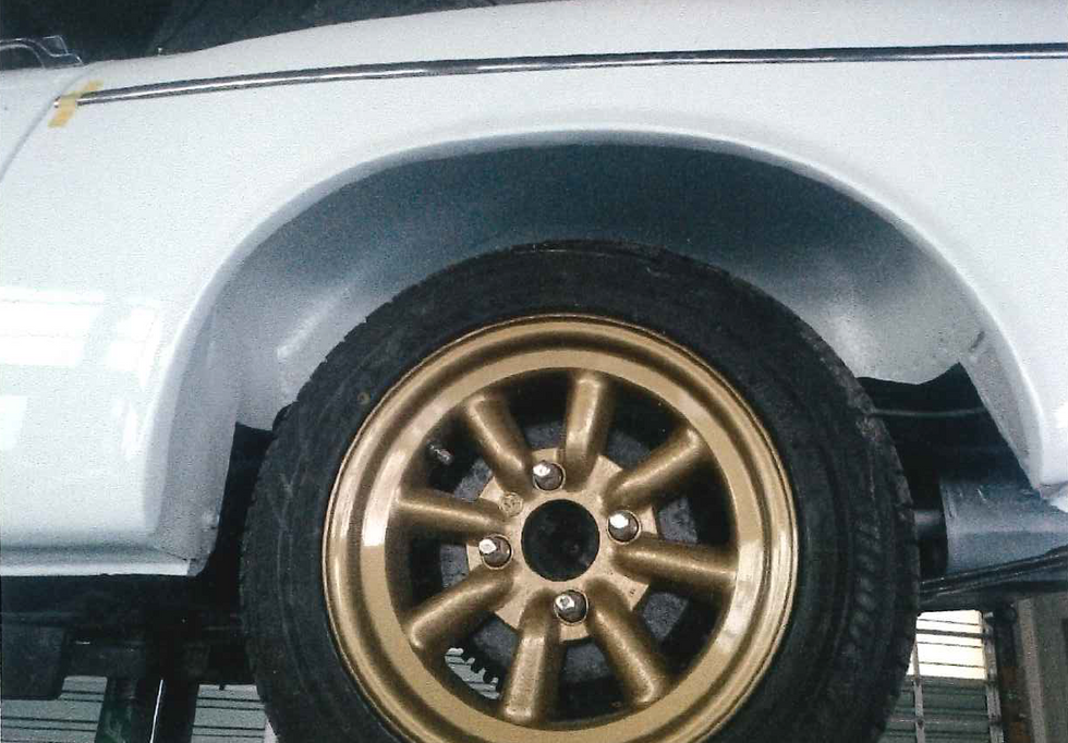タイヤ・ホイルの交換