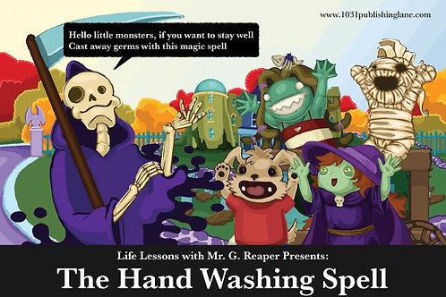 The Magic of Making Friends, FREE Hand Washing Poster