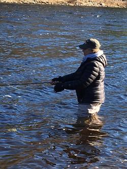 Patty fishing