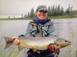 Kate's Huge Landlocked Salmon
