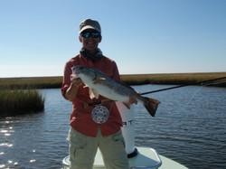 Sue - LA Redfish 10-31-10.JPG