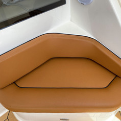Alfresco Riv fly bridge cushions